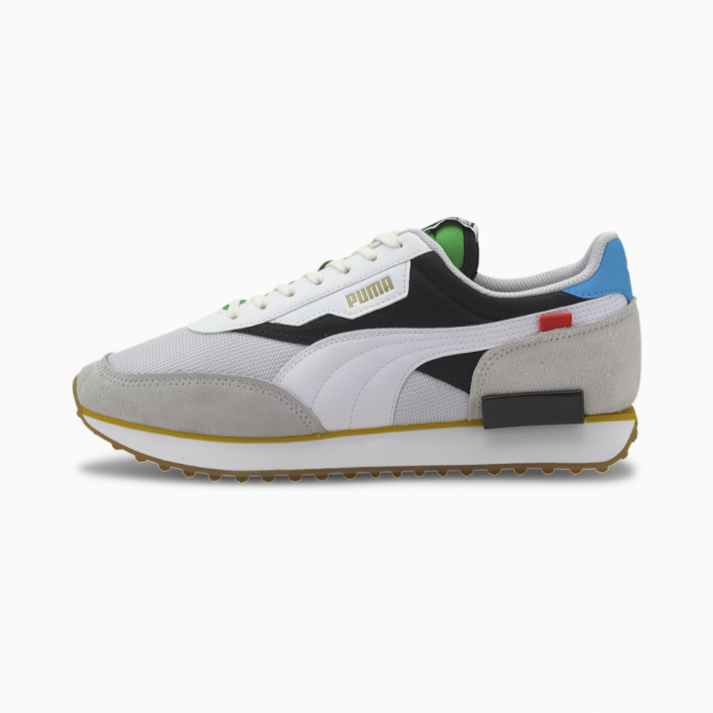 プーマ PUMA メンズスニーカー Future Rider WH 373384【FITHOUSE ONLINE SHOP】
