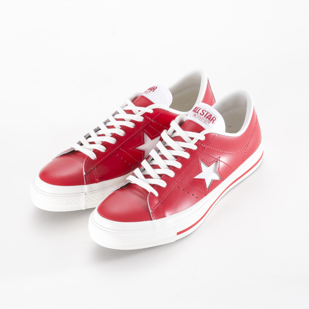 コンバース CONVERSE メンズスニーカー ONE STAR J RED【FITHOUSE ONLINE SHOP】