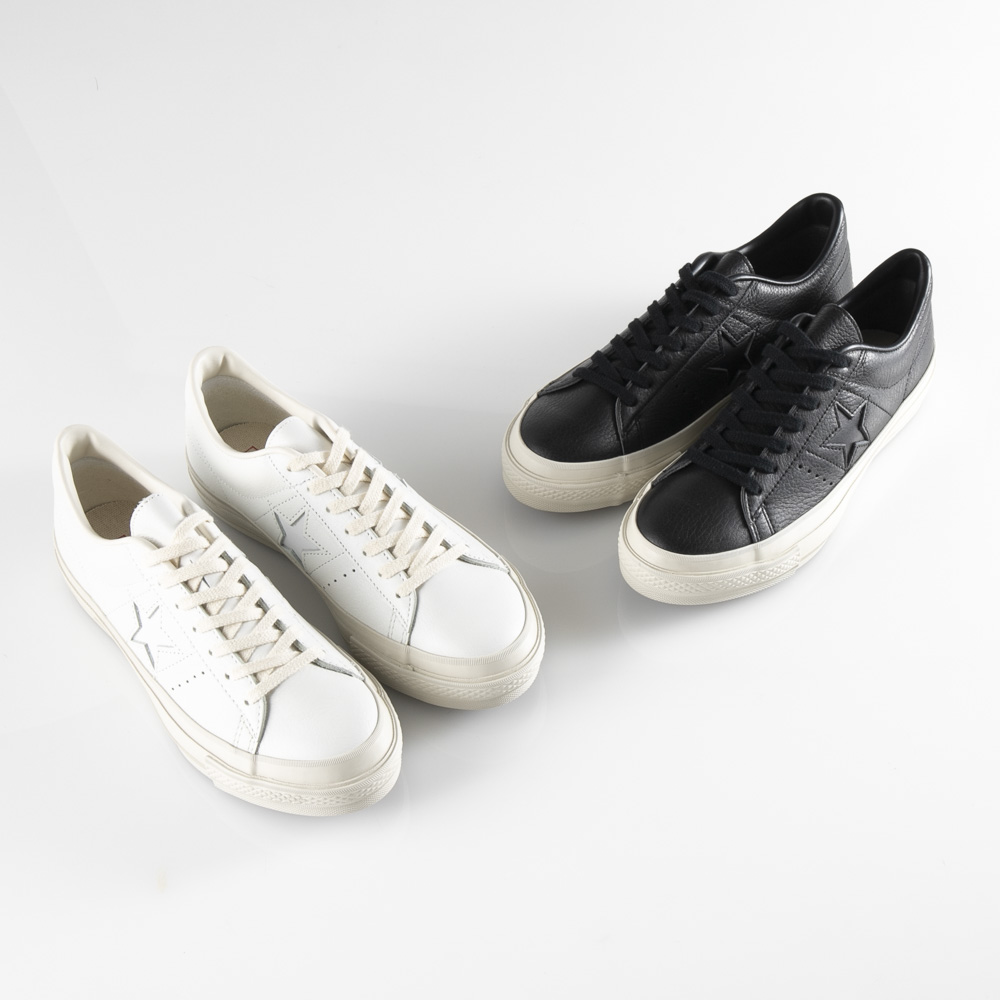 コンバース CONVERSE メンズスニーカー ONE STAR J EB LEATHER【FITHOUSE ONLINE SHOP】