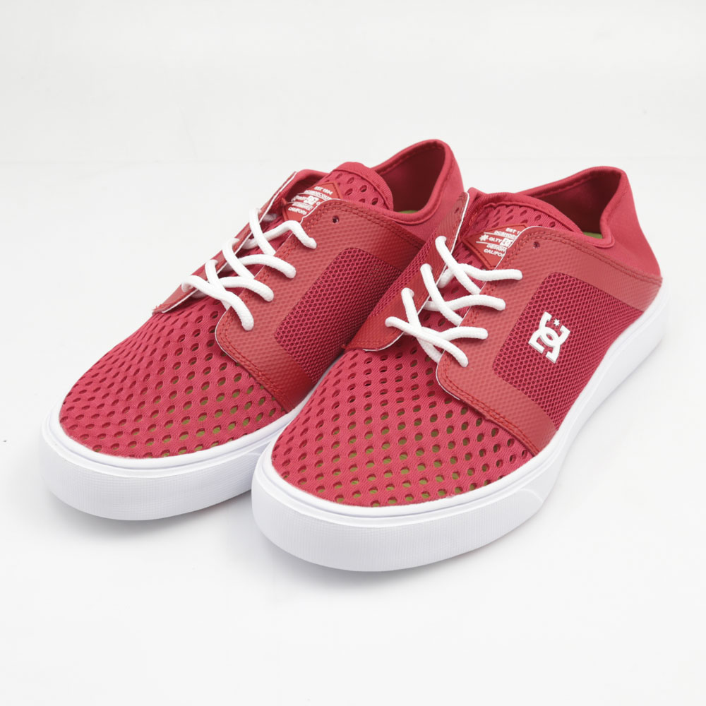 ディーシー DC メンズスニーカー TRASE LITE DM181603-RED【FITHOUSE ONLINE SHOP】