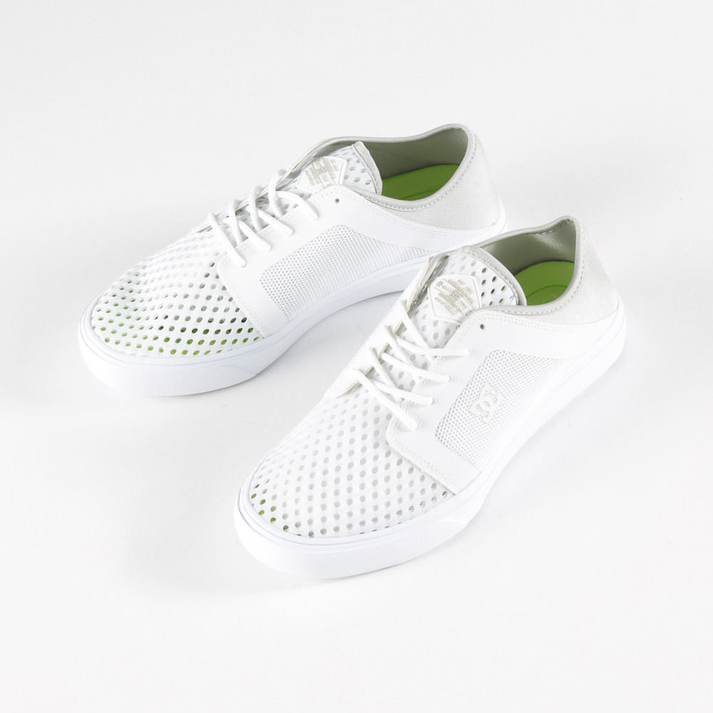 ディーシー DC メンズスニーカー TRASE LITE DM181603-WHT【FITHOUSE ONLINE SHOP】