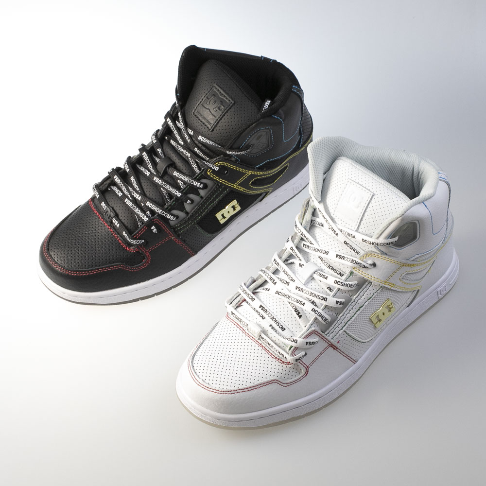 ディーシー DC メンズスニーカー PURE HIGH-TOP SE DM201025【FITHOUSE ONLINE SHOP】