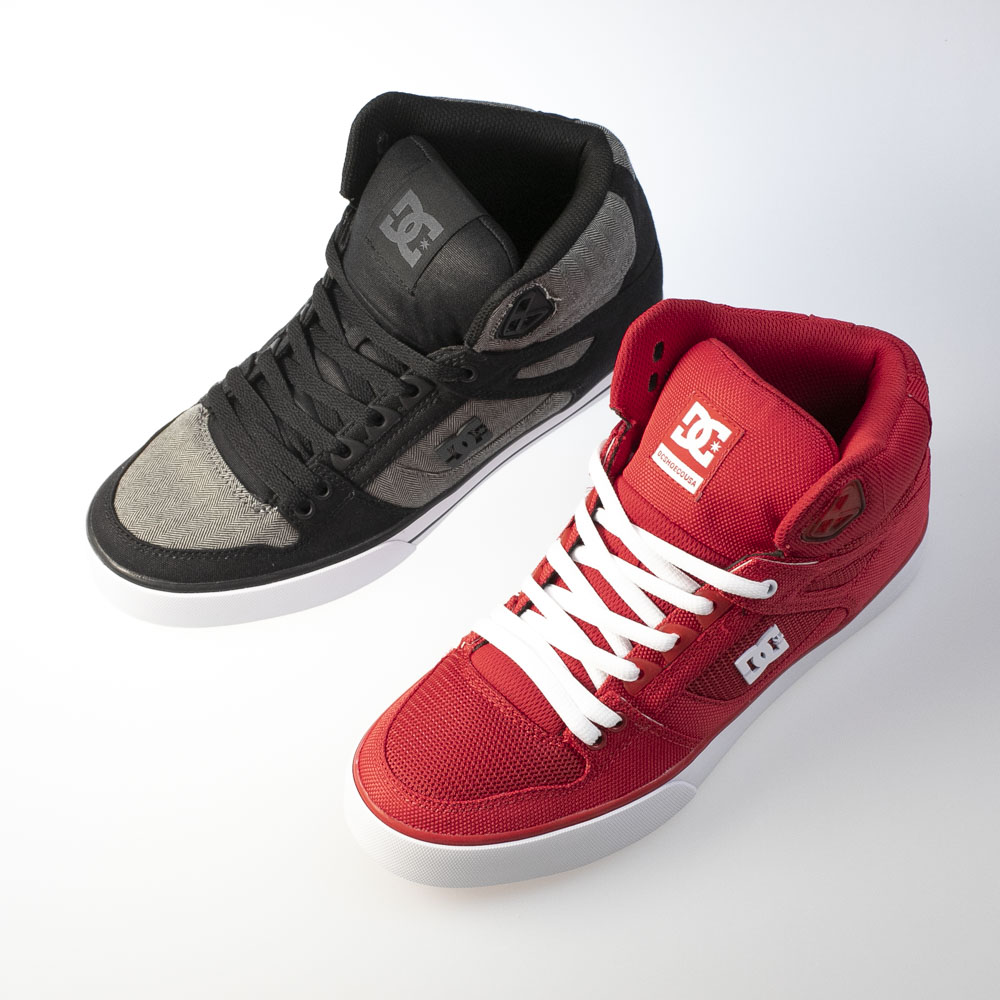 ディーシー DC メンズスニーカー PURE HIGH-TOP WC TX SE DM201027【FITHOUSE ONLINE SHOP】