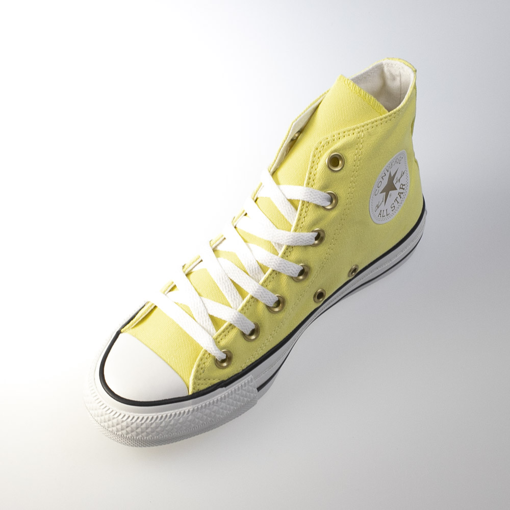 コンバース CONVERSE レディーススニーカー AS PASTELS HI YELLOW ASPASTELS【FITHOUSE ONLINE SHOP】