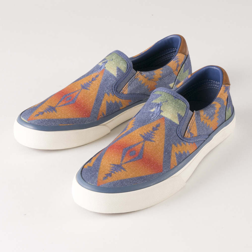 ポロラルフローレン POLO RALPH LAUREN メンズスリッポン THONPSON SLIP-ON RS33【FITHOUSE ONLINE SHOP】
