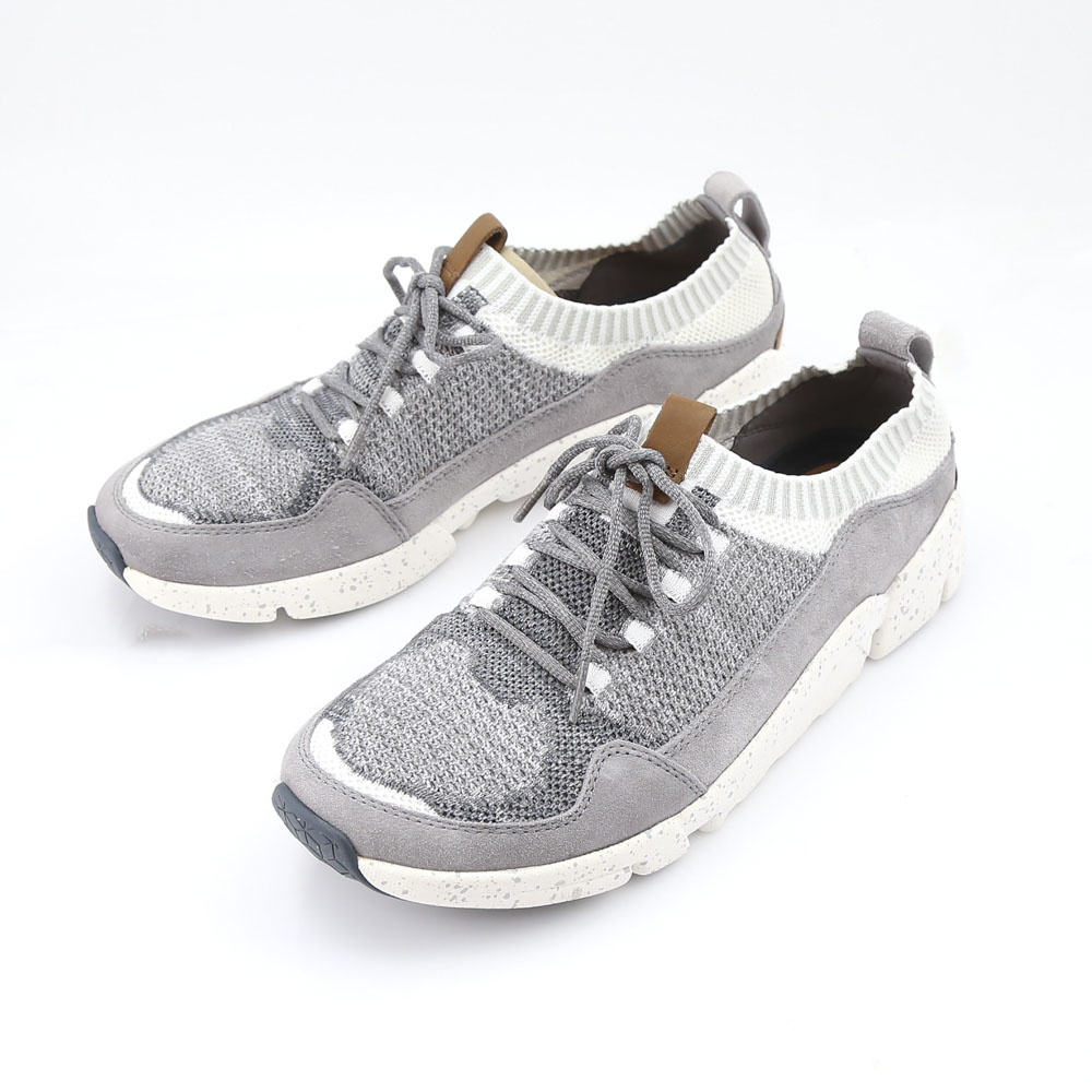 clarks クラークス TRIACTIVE KNIT 917E/GREY/8104 グレー【FITHOUSE ONLINE SHOP】