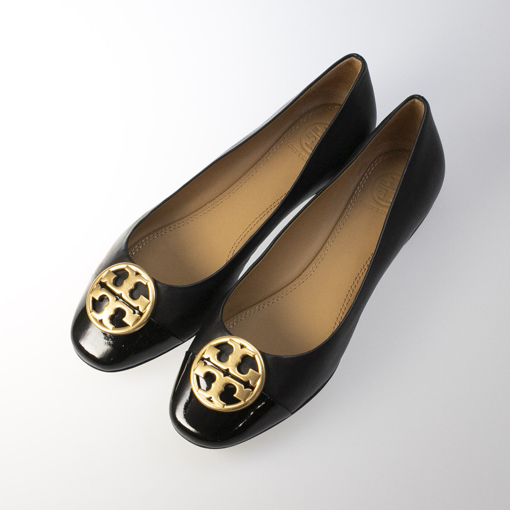 トリーバーチ TORY BURCH パンプス CHELSEA CAP-TOE BALLET 46882【FITHOUSE ONLINE SHOP】