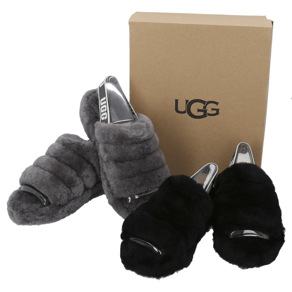 アグ UGG レディースサンダル FLUFFYEAH SLIDE 1095119【FITHOUSE ONLINE SHOP】