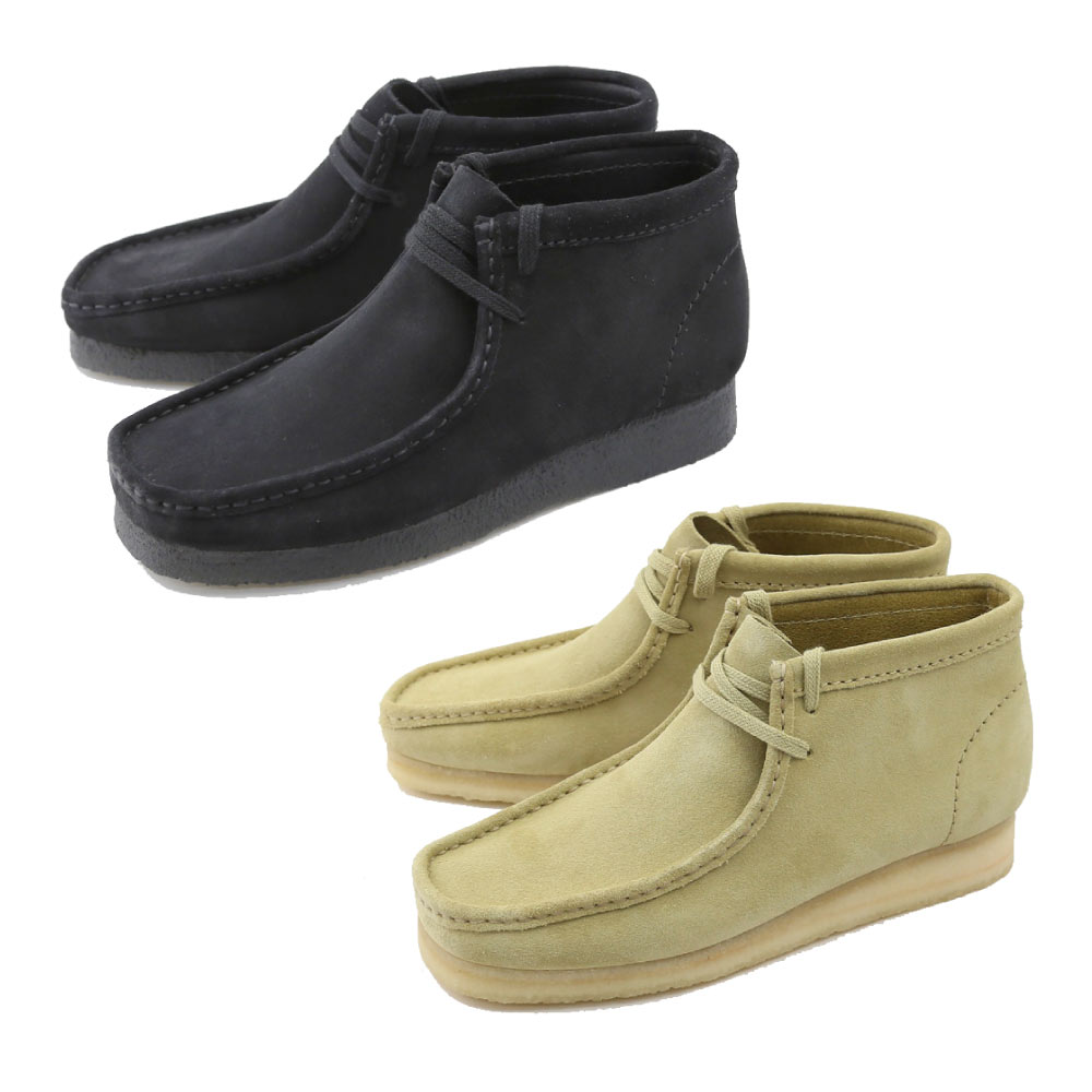 クラークス CLARKS ブーツ WALLABEE BOOTS 894E BEGS ベージュ