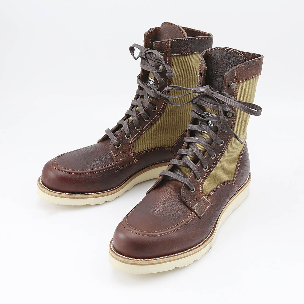 WOLVERINE WOLVERINE8 LEATER CANVAS WEDGE W00285 ギフトラッピング無料