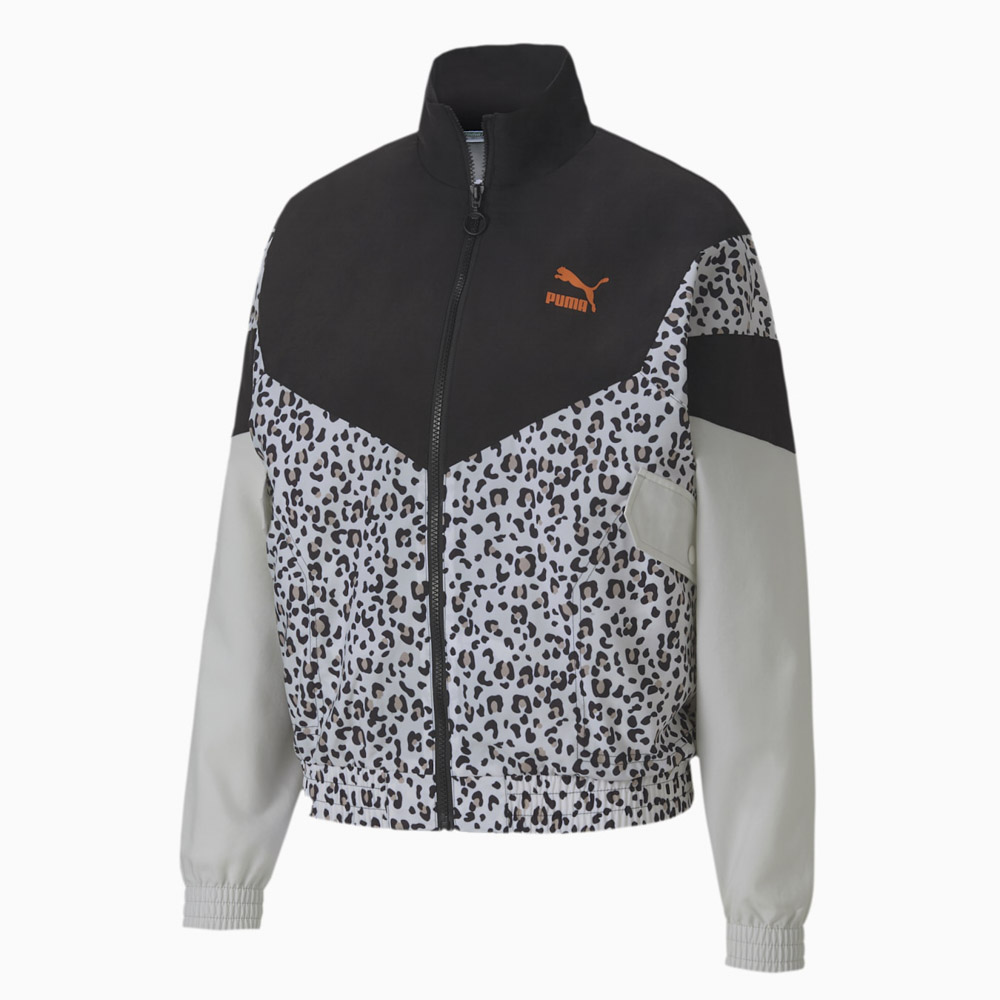 プーマ PUMA レディースアウター TFS Track Jacket AOP Woven 599066【FITHOUSE ONLINE SHOP】
