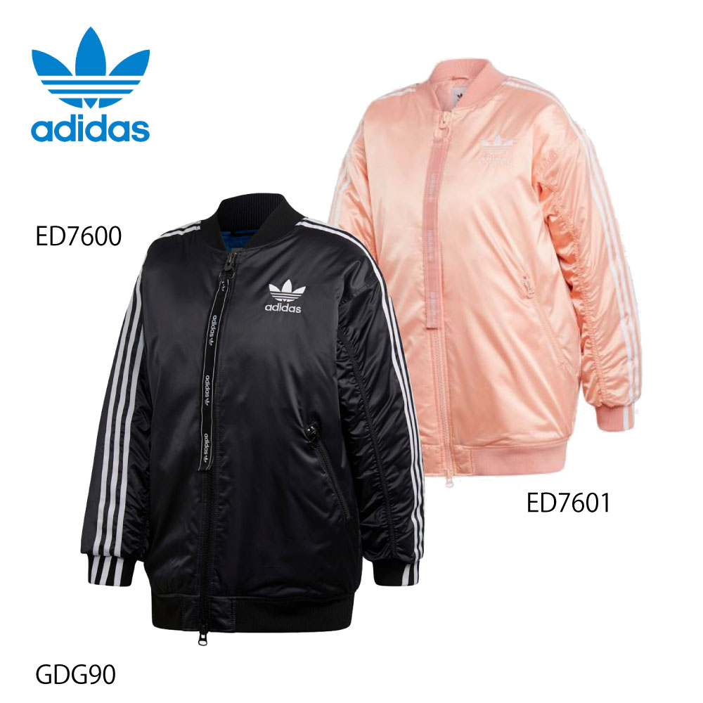 アディダスオリジナルス adidas Originals アパレルアウター LONG BOMBER JACKET GDG90【FITHOUSE ONLINE SHOP】