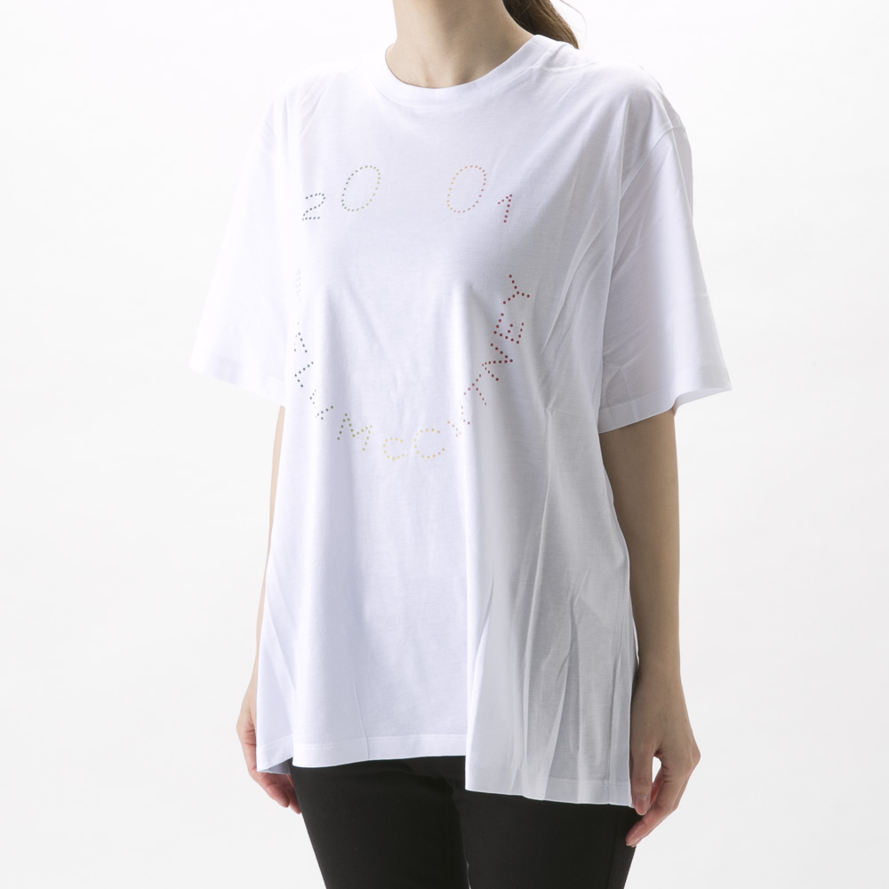 ステラマッカートニー StellaMcCartney レディーストップス HAPPY STELLA T-SHIRT JERSEY 511240SNW63【FITHOUSE ONLINE SHOP】