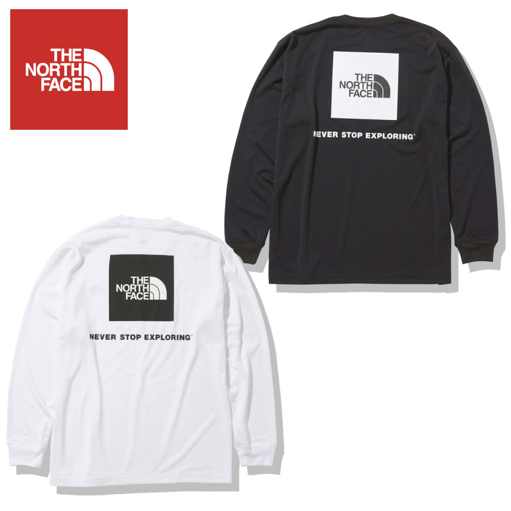 ザ ノースフェイス THE NORTH FACE メンズトップス L/S BACK SQ LOGO T NT82035【FITHOUSE ONLINE SHOP】