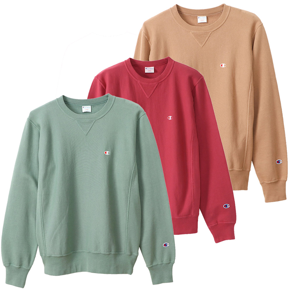 チャンピオン champion メンズトップス RW CREWNECK SWEATSHIRT C3-R010【FITHOUSE ONLINE SHOP】