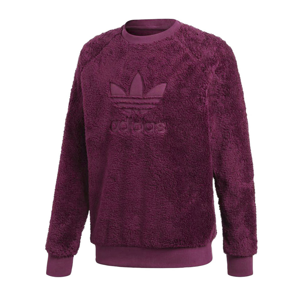 adidas Originals アディダスオリジナルス WINTERIZED CREW SWEATSHIR FJC98-DH7077/M ワイン