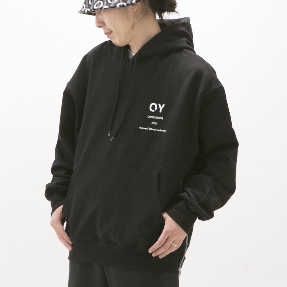オーワイ OY メンズトップス SIDE ZIPPER HOODIE【FITHOUSE ONLINE SHOP】