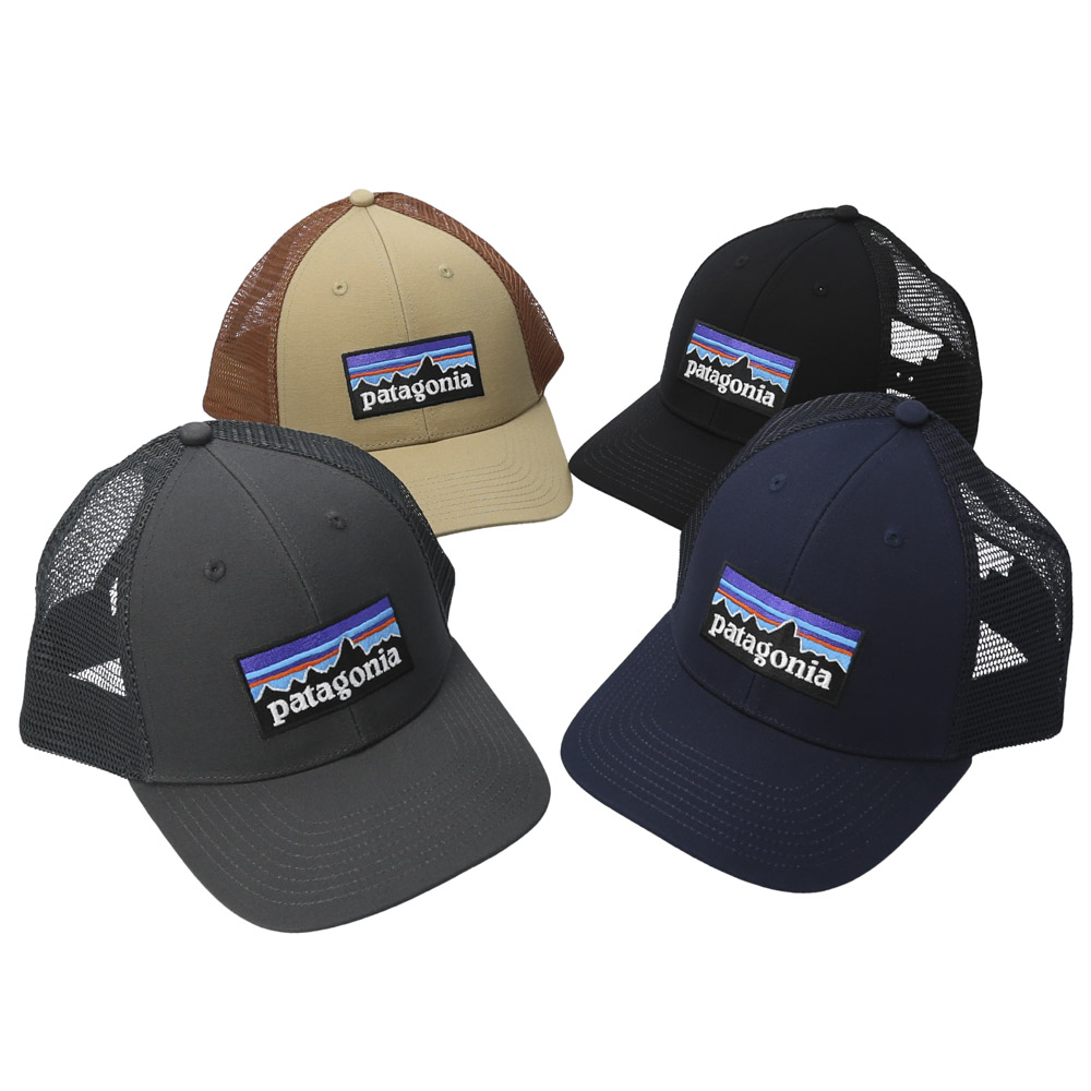 パタゴニア patagonia キャップ P-6 Logo LoPro Trucker Hat 38283【FITHOUSE ONLINE SHOP】