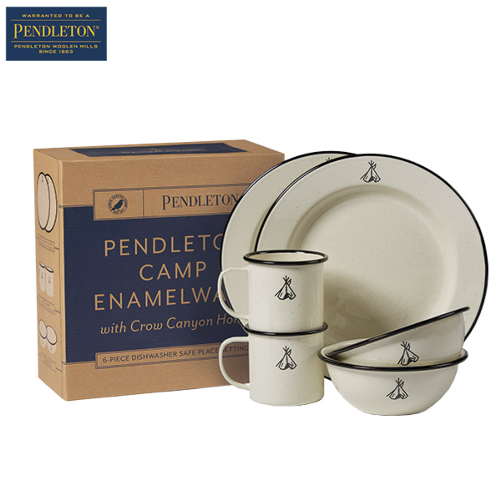 ペンドルトン PENDLETON 食器セット CAMP Enamelware XW713【FITHOUSE ONLINE SHOP】