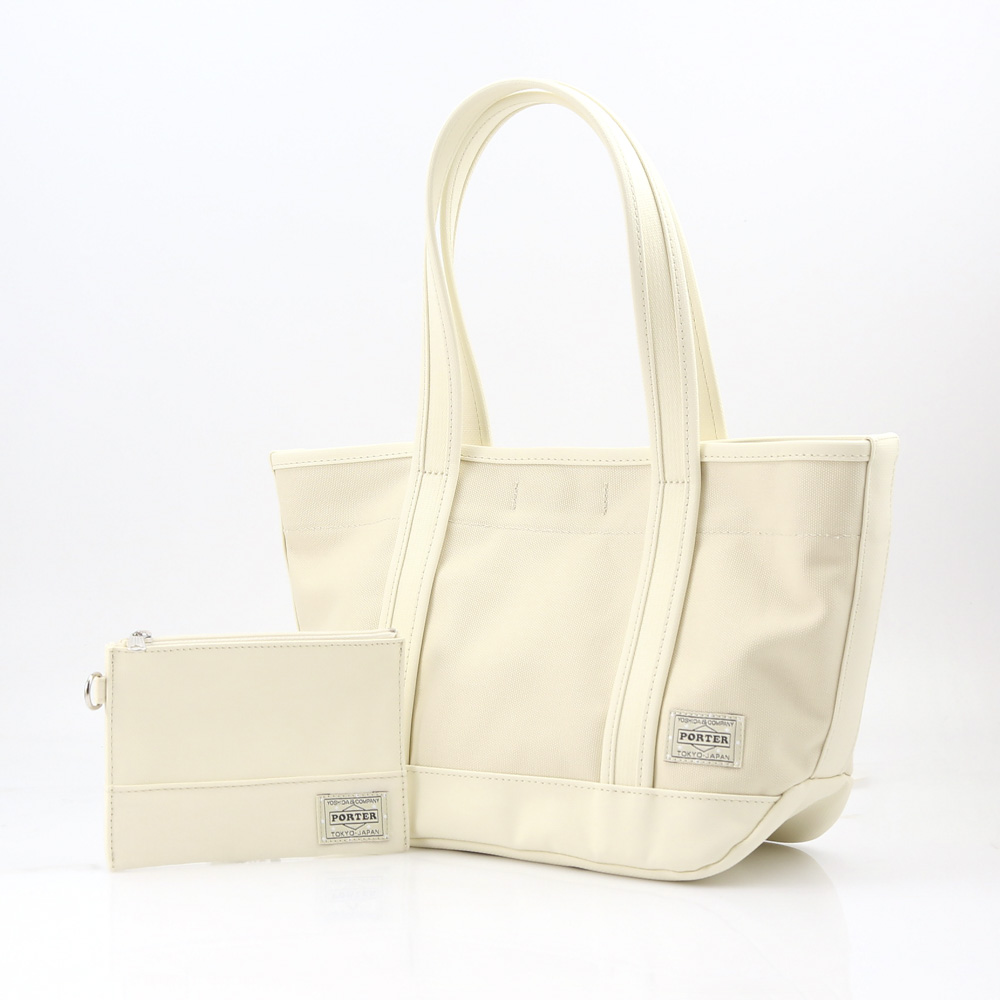 PORTER ポーター  B.F.TOTE 739-08515-70 ホワイト【FITHOUSE ONLINE SHOP】