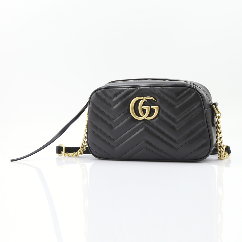 GUCCI  GG MARMONTチェーンショルダー 447632DTD1T ギフトラッピング無料