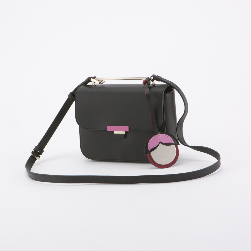 FURLA フルラ  ELISIR MINI CROSSBODY BMV2-929540/ON-OR ブラック