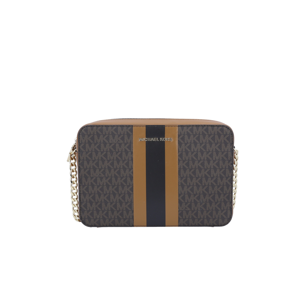 MICHAEL KORS JET SET STRIPED EW CROSSBODY 32F9GJ6C3B ギフトラッピング無料