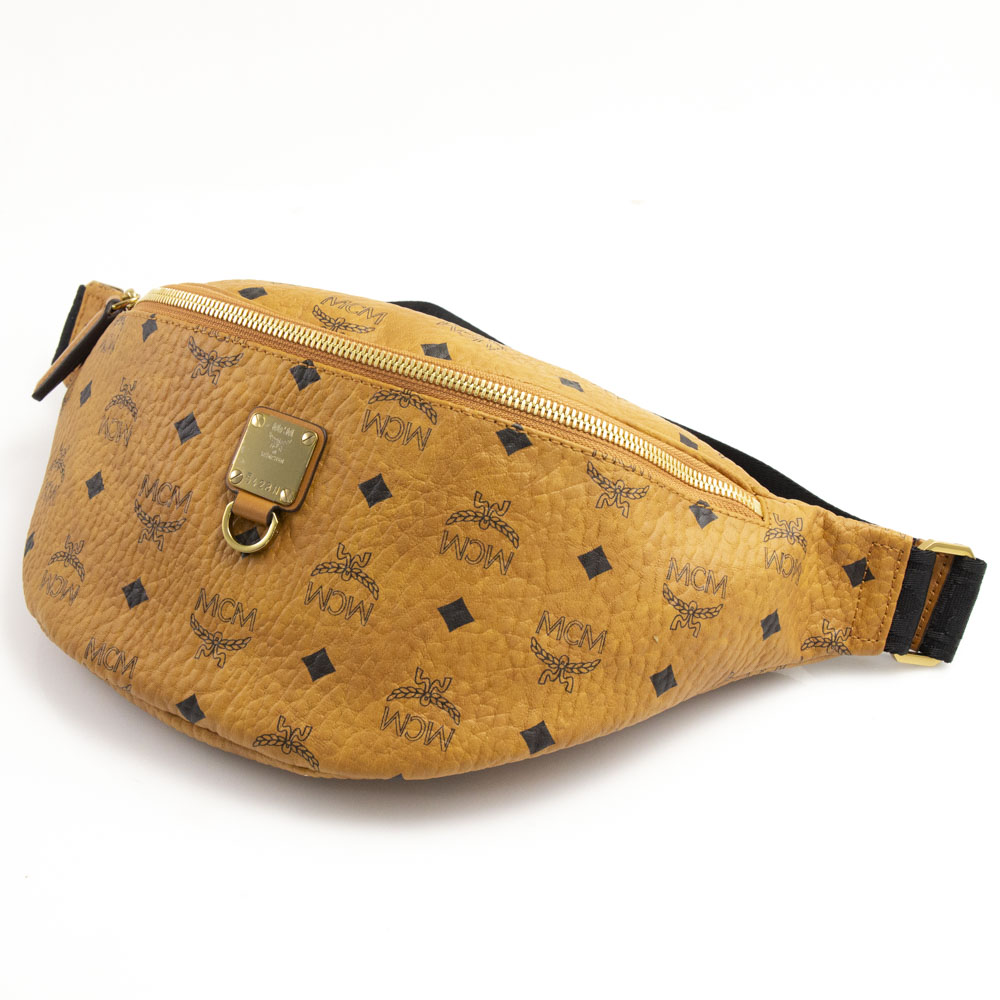 エムシーエム MCM ウエスト・ベルトバッグ FURSTEN VISETOS MD BELT BAG MUZ9SFI21【FITHOUSE ONLINE SHOP】
