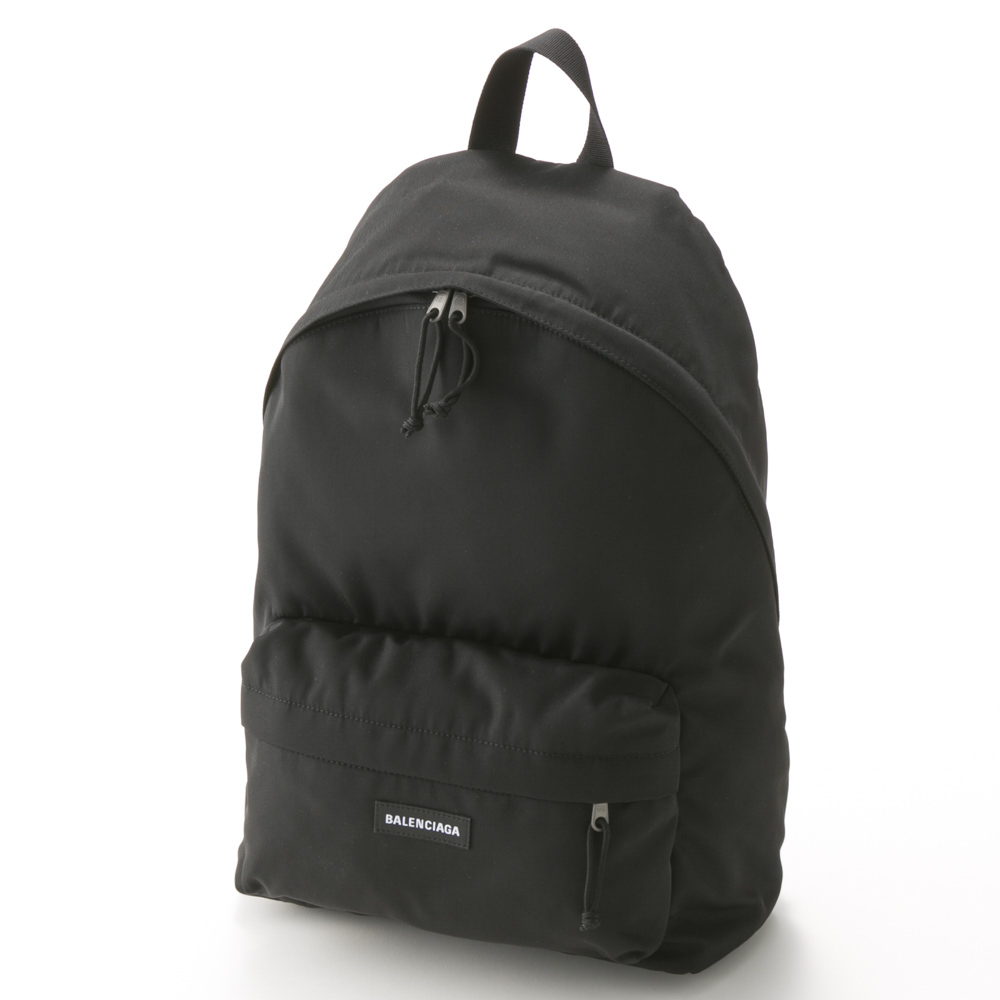 BALENCIAGA バレンシアガ  EXPLORER NYL BACKPACK 5032219TY55/1000 ブラック【FITHOUSE ONLINE SHOP】