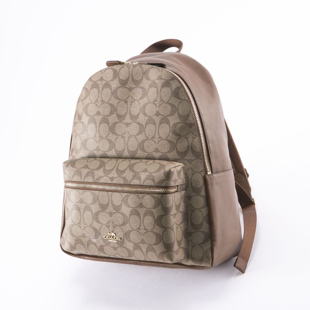 COACH OUTLET コーチアウトレット  チャーリーシグネチャーバックパック F58314/IME74【FITHOUSE ONLINE SHOP】