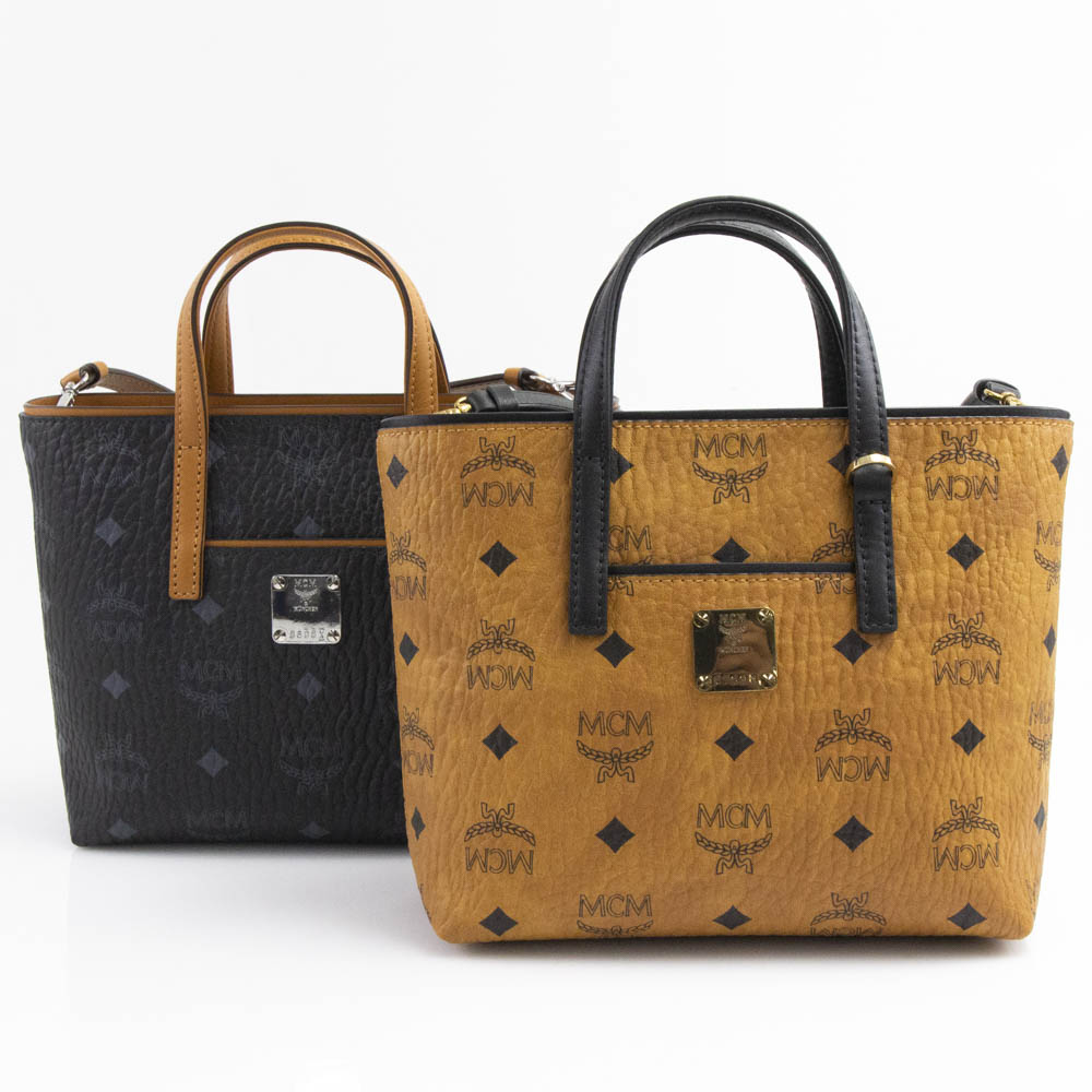 エムシーエム MCM ハンドバッグ ANYA SHOPPER SHOPPER MINI MWP9AVI78【FITHOUSE ONLINE SHOP】