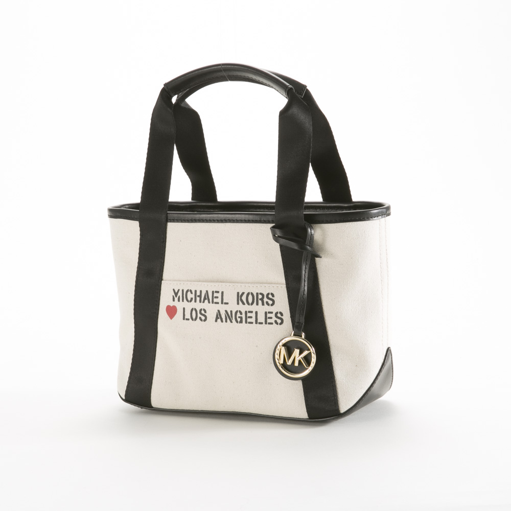 マイケルコース MICHAEL KORS トートバッグ THE MICHAEL SM キャンバス TOTE LOS ANGELES 30S0G01T0I【FITHOUSE ONLINE SHOP】