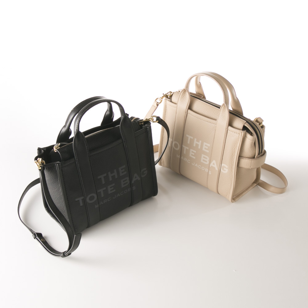 マークジェイコブス MARC JACOBS ハンド・トートバッグ THE LEATHER MINI TRAVELER TOTE H009L01SP21【FITHOUSE ONLINE SHOP】