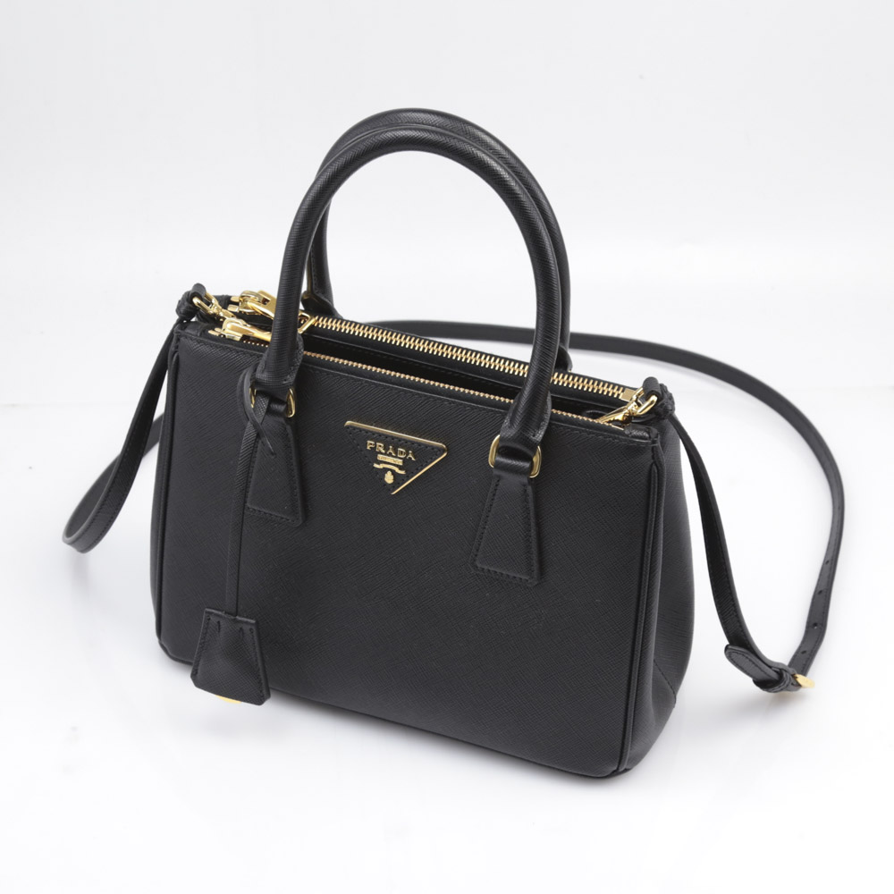 プラダ PRADA ハンド・トートバッグ SAF.LUX GALLERIAトートSD/NERO 1BA896-NZV【FITHOUSE ONLINE SHOP】