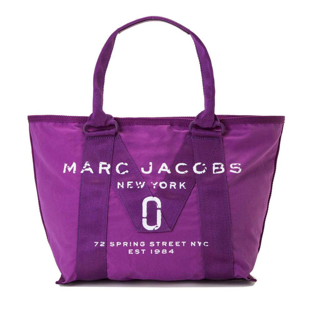 MARC JACOBS マークジェイコブス 17S NEW LOGO SM トートバッグ M0011222/533-LILAC71 パープル