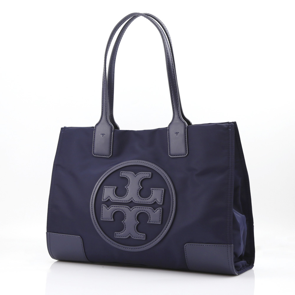 TORYBURCH トリーバーチ MINI NYLON ELLA TOTE 45211/405-T.NV ネイビーブルー