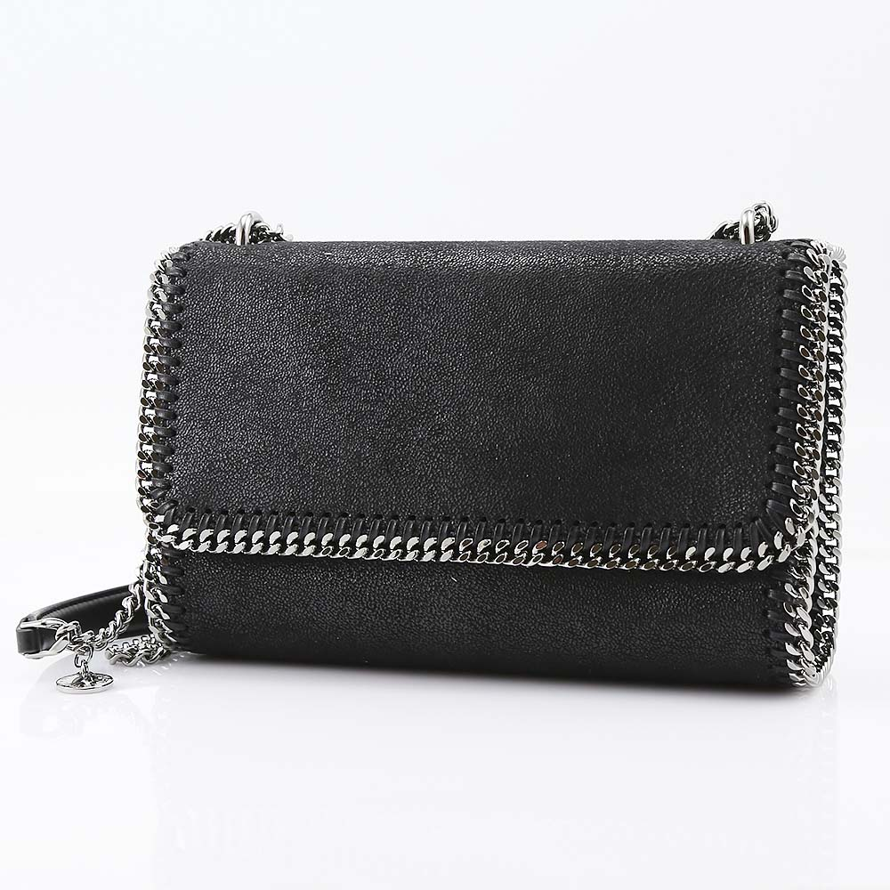 STELLAMCCARTNEY ステラマッカートニー FALABELLA SH.D.2WAY SD 455128W9132/1000 ブラック