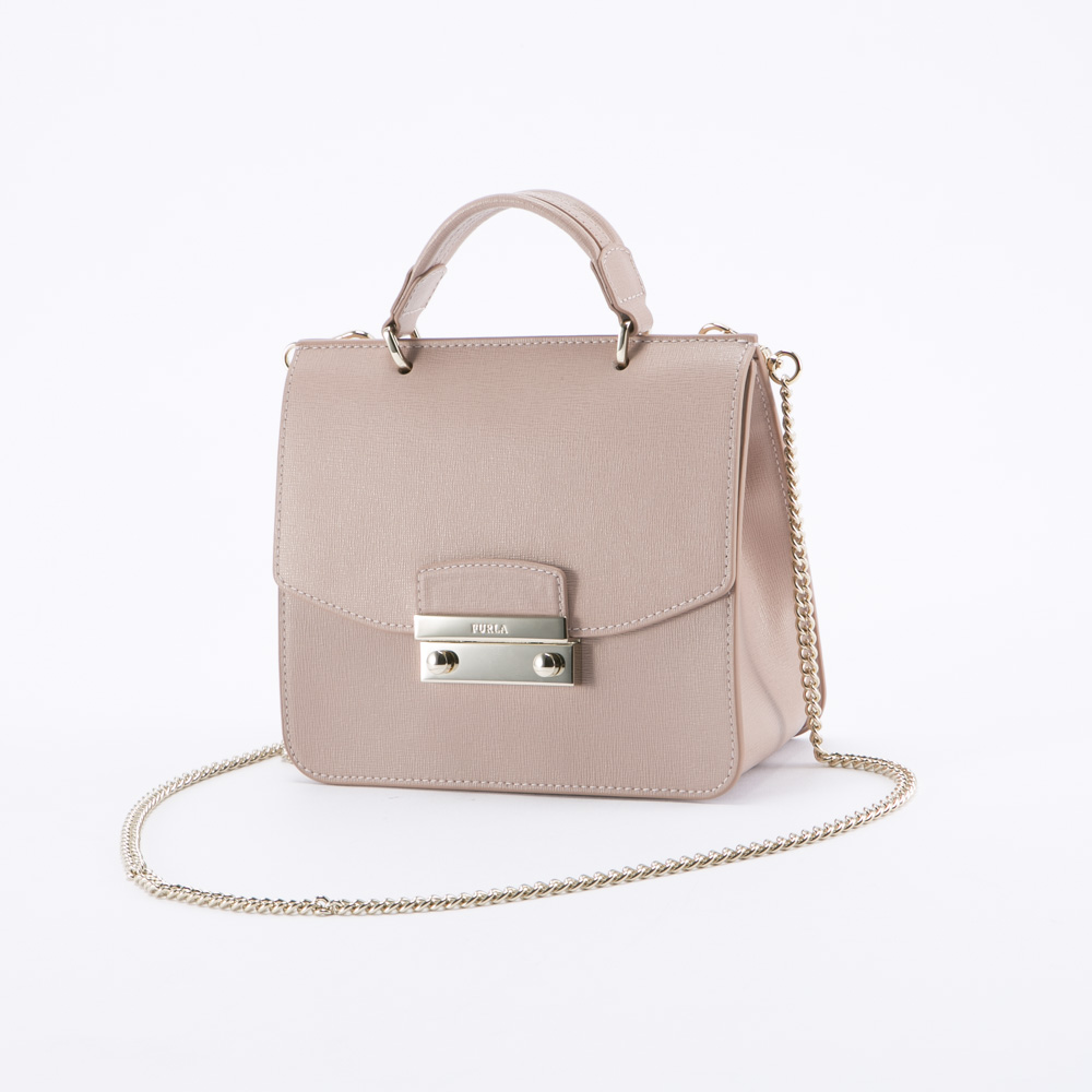 FURLA フルラ  JULIA MINI TOP HANDLE BLH0-931064/MOONS ピンク【FITHOUSE ONLINE SHOP】
