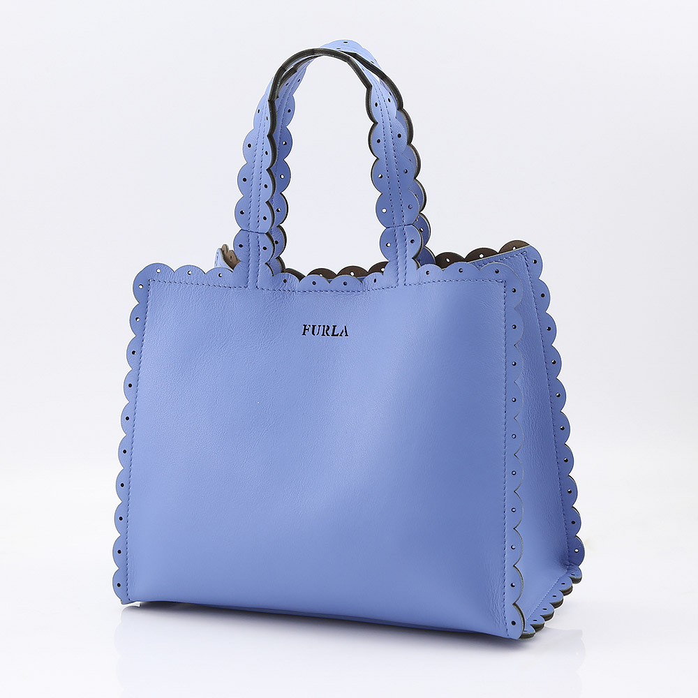 FURLA フルラ MERLETTO S TOTE BNH4-941709/CELES ブルー【FITHOUSE ONLINE SHOP】
