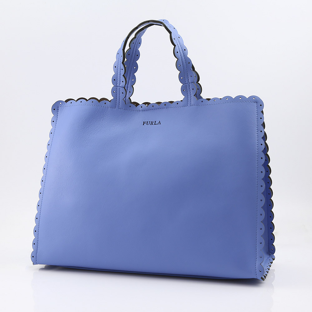 FURLA フルラ MERLETTO L TOTE BNH5-941717/CELES ブルー【FITHOUSE ONLINE SHOP】
