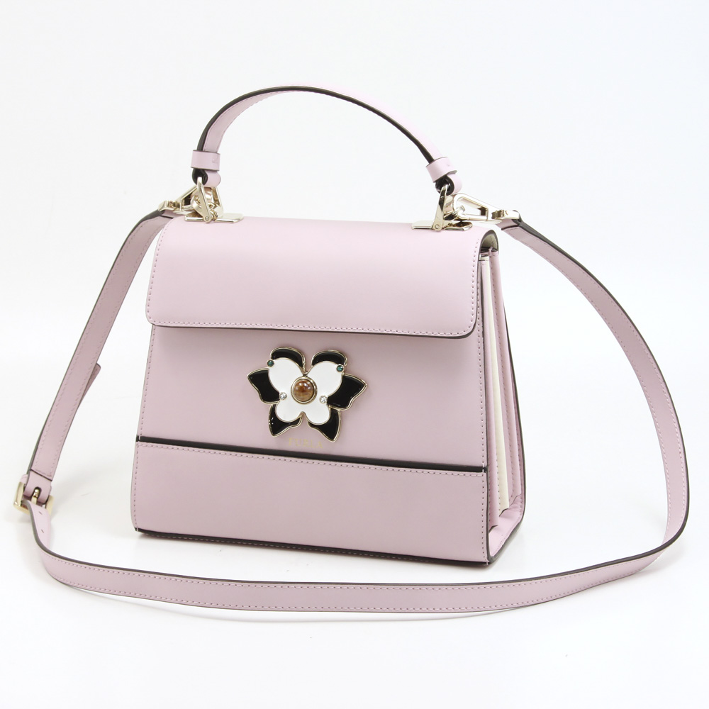FURLA フルラ MUGETTO Sトップハンドルバッグ BOH7-961618/CAMELI ピンク【FITHOUSE ONLINE SHOP】