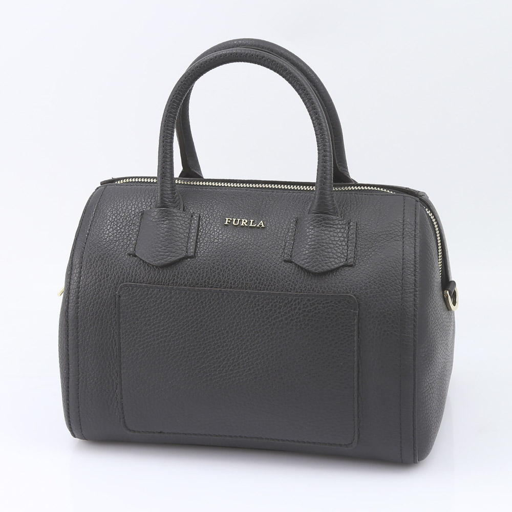 FURLA フルラ  ALBA S SATCHEL  BTE3-984381/ONYX ブラック【FITHOUSE ONLINE SHOP】