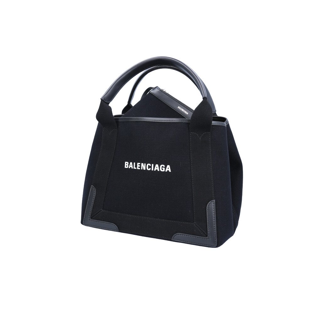 バレンシアガ BALENCIAGA トートバッグ NAVY CABAS S 339933AQ38N 【FITHOUSE ONLINE SHOP】