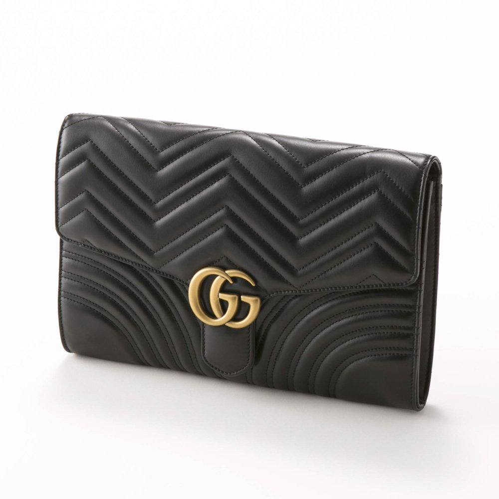 GUCCI  GG MARMONTクラッチバッグ 498079DTD1Tギフトラッピング無料