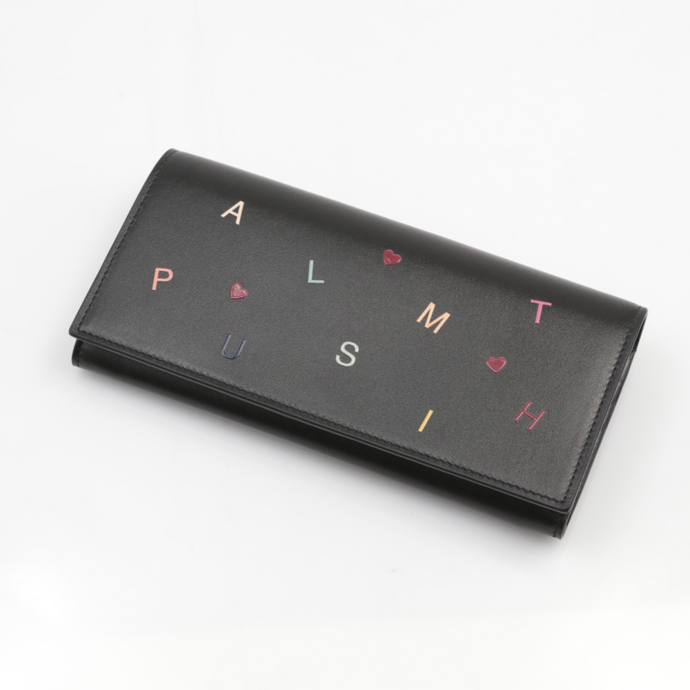ポールスミス Paul Smith 長財布 PAUL SMITH LETTERS PRINT長F小銭付 W1A5078/ALETFO【FITHOUSE ONLINE SHOP】