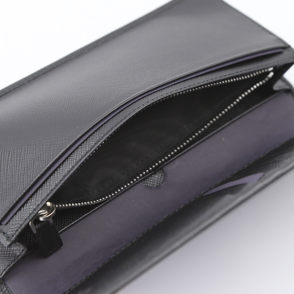 PRADA プラダ  SAF.TRIANGOLO長財布 2MV836-QHH/NERO ブラック【FITHOUSE ONLINE SHOP】