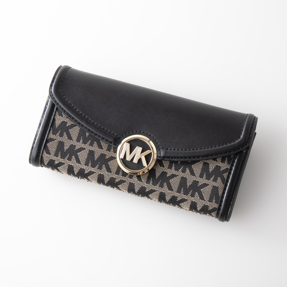 マイケルコース MICHAEL KORS 長財布小銭付 FULTON〇金具長F付LG FLAP 35F9GFTE3J/O【FITHOUSE ONLINE SHOP】