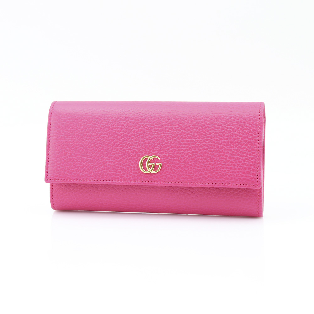 GUCCI グッチ  PETITE MARMONT長F 456116CAO0G/5752 ピンク【FITHOUSE ONLINE SHOP】
