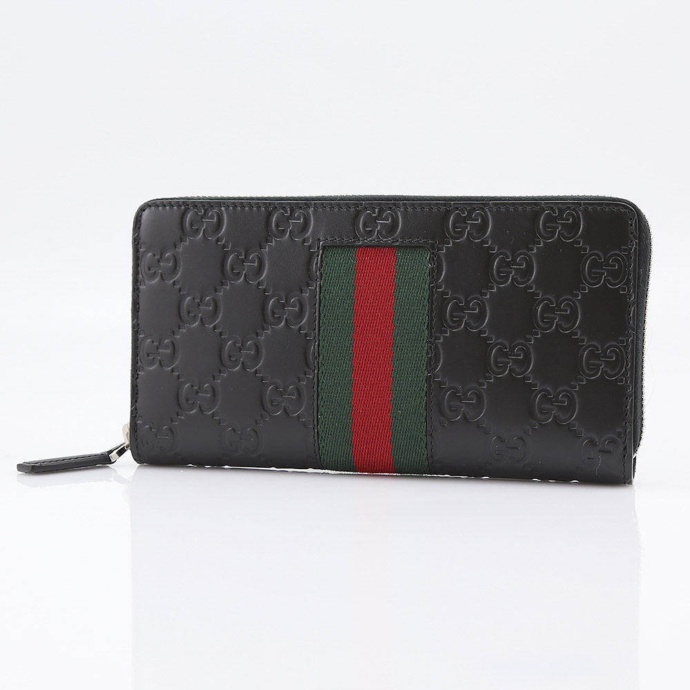 グッチ GUCCI 長財布 NEW WEB GGシグネラウンド 408831CWCLN【FITHOUSE ONLINE SHOP】