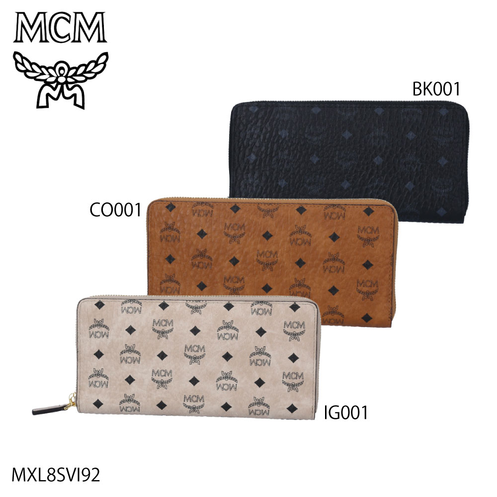 エムシーエム MCM 長財布 VISETOS MXL8SVI92【FITHOUSE ONLINE SHOP】